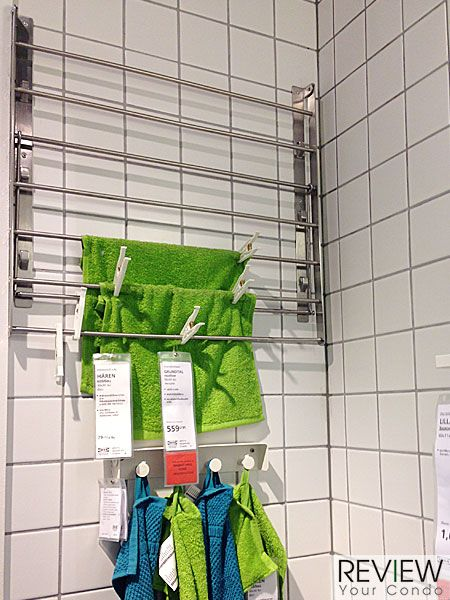 Ikea Grundtal Faucet Review ~ ราวตากผ้าติดผนังแบบพับ