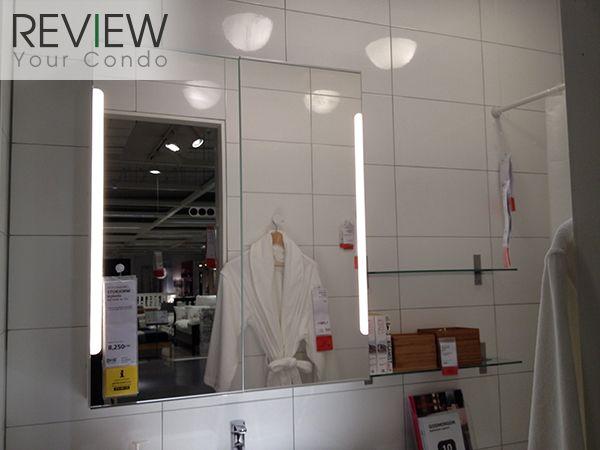 Test  Badezimmer Spiegelschrank Mit Licht Und Steckdose Badspiegel