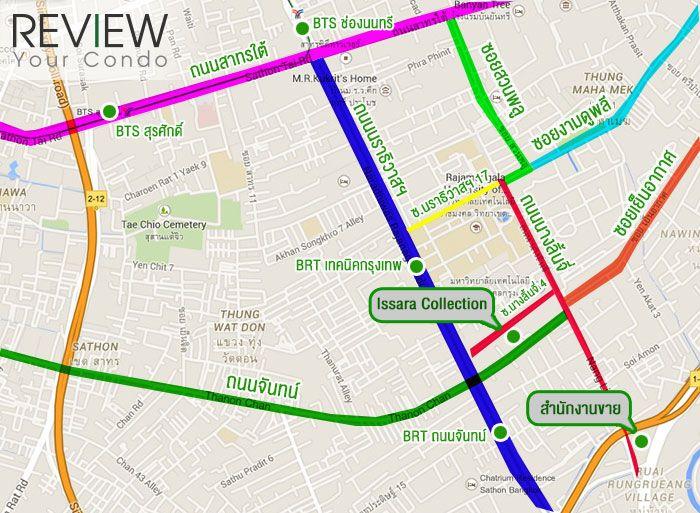 รีวิว-คอนโด-review-your-condo-คอนโดติดรถไฟฟ้า-BRT-เทคนิคกรุงเทพ-Issara-Collection-Sathorn-อิสสระ-คอลเลกชั่น-สาทร-Location001-1