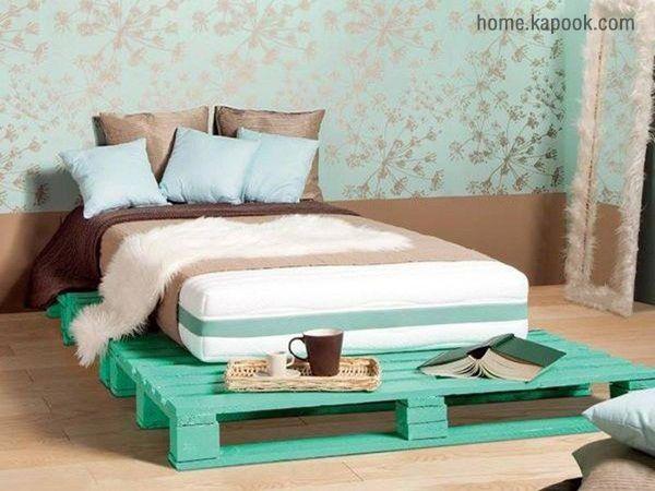 ขาเตียงดีไซน์แปลก ก็แต่งห้องนอนได้