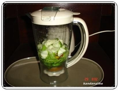 วิธีทำน้ำผักปั่นแบบง่ายๆ