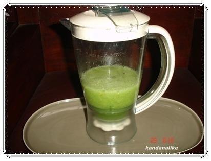 สูตรน้ำผักปั่น เพื่อสุขภาพ