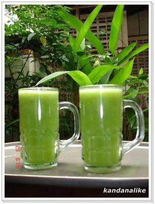 ส่วนประกอบของน้ำผักปั่นและประโยชน์