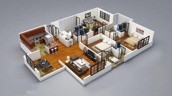 25 3 for Habitaciones 3d max gratis