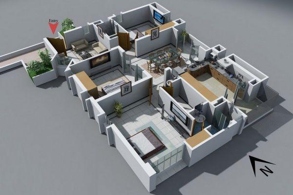 รีวิว-คอนโด-review-your-living-คอนโดติดรถไฟฟ้า-Did-You-Know-Idea-ไอเดีย-แต่งบ้าน-แปลนบ้าน3ห้องนอน-009