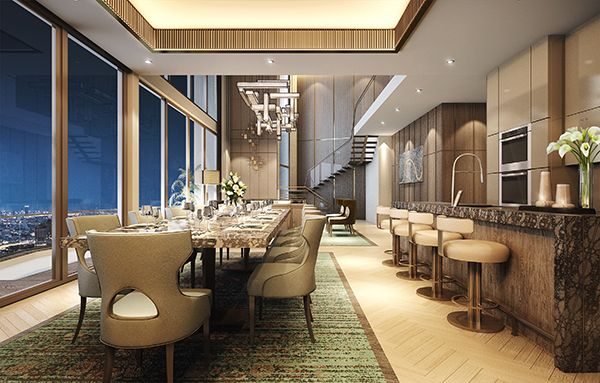 ICONSIAM - MO - Penthouse - Dining - 02