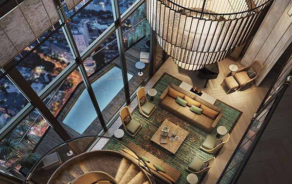 ICONSIAM - MO - Penthouse -  Living