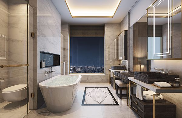 ICONSIAM - MO - Penthouse -  Master Bath - 02