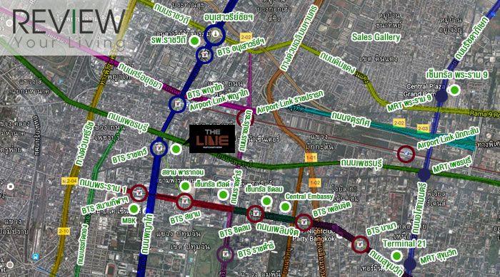 The-Line-ราชเทวี-รีวิว-คอนโด-review-your-condo-คอนโดติดรถไฟฟ้า-BTS-ราชเทวี-Location (1)