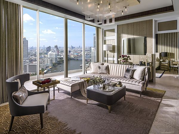 The Residences at Mandarin Oriental -  Living room - 02