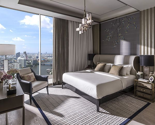 The Residences at Mandarin Oriental  - Master bedroom