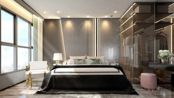 5_Whizdom Station Ratchada-Thapra_Bedroom_ One Bedroom