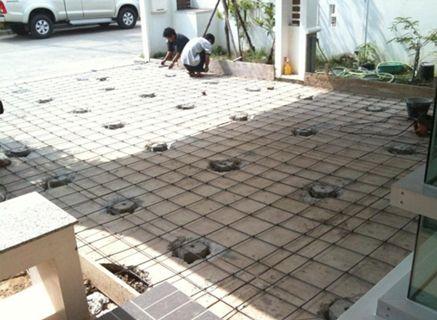 SCG-Experience-ซ่อมแซมบ้าน-พื้นโรงจอดรถ (8)