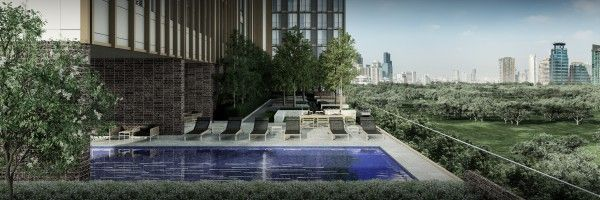Noble BE19  Garden+swimming-pool+BBQ