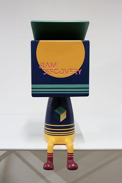 Discovery Man  ผลงานการออกแบบร่วมระหว่าง nendo และ  Kubota Fumikazu ศิลปินชาวญี่ปุ่น