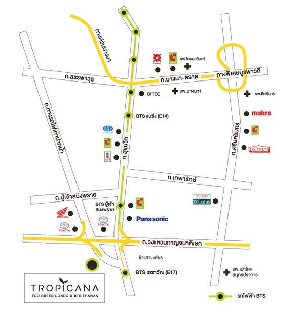 Tropicana-BTS-Erawan-รีวิว-คอนโด-review-your-condo-คอนโดติดรถไฟฟ้า-BTS-เอราวัณ-Location