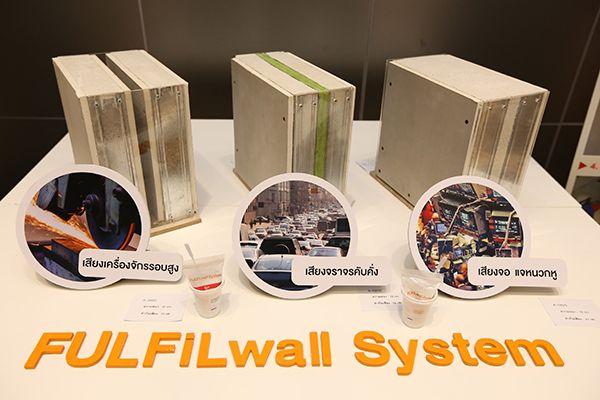 รูปแบบผนังดีไซน์ต่างๆ จากระบบผนัง ฟูลฟิลล์ วอลล์