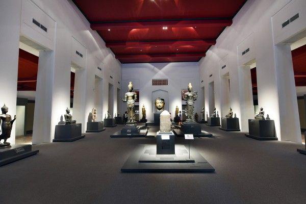 03 ภาพบรรยากาศทั่วไปของการจัดแสดงศิลปวัตถุที่เป็นมรดกทางศิลปวัฒนธรรมของชาติไทย
