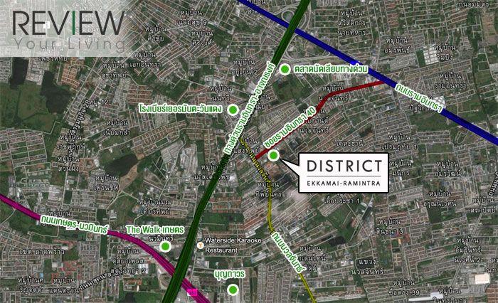 District-เอกมัย-รามอินทรา-advertorial-รีวิว-ทาวน์โฮม-review-your-living-ทาวน์โฮม-Townhome-Location (1)