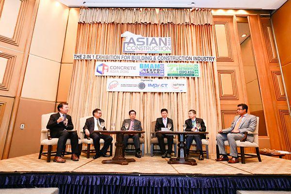 บรรยากาศการเสวนา Asian Construction Week 2016 (4)