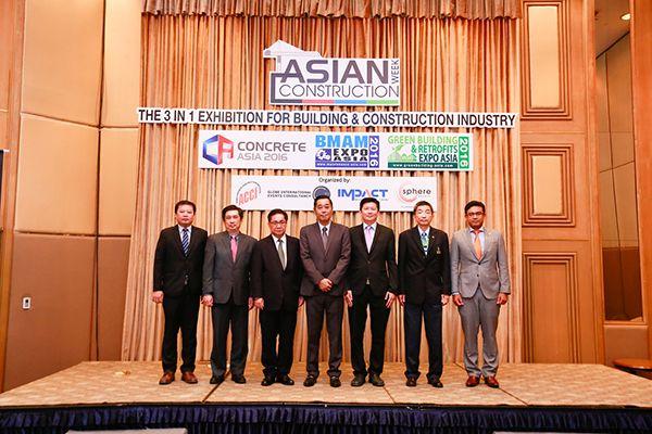 บรรยากาศภายในงาน Asian Construction Week 2016 (2)
