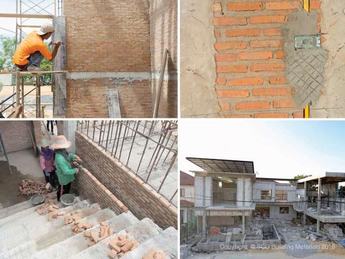 ขั้นตอนสร้างบ้าน งานฉาบผนัง และงานติดตั้งฝ้าเพดาน