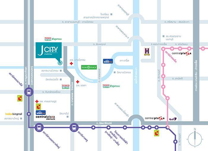 preview j city รัตนาธิเบศร์-บางบัวทอง