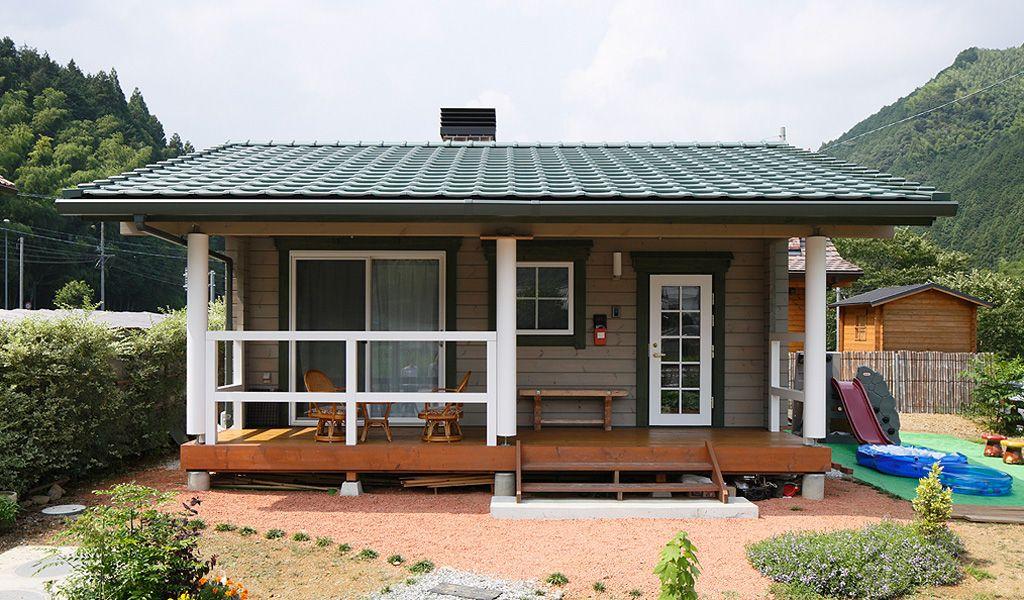 แบบบ้านชั้นเดียว หลังเล็กๆ เรียบง่ายสไตล์ญี่ปุ่น