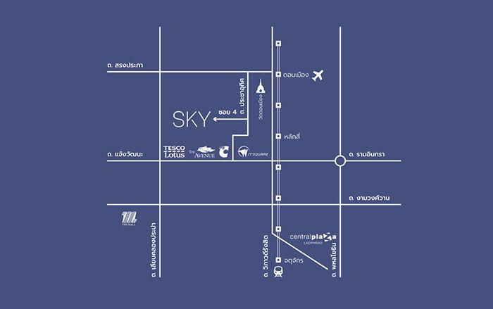 SKY ดอนเมือง-สรงประภา