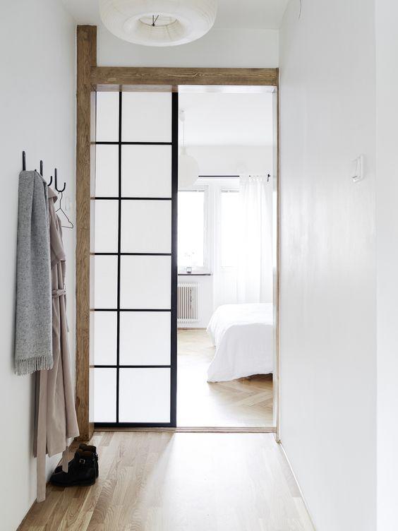 แต่งห้องสไตล์ญี่ปุ่น ด้วยประตูบานเลื่อนกระดาษ