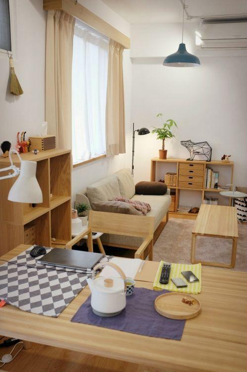 แต่งห้องสไตล์ญี่ปุ่นด้วยเฟอร์นิเจอร์ไม้เรียบง่ายแบบมินิมอล