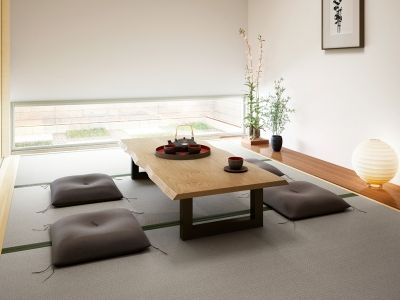 แต่งห้องสไตล์ญี่ปุ่น โต๊ะเตี้ยญี่ปุ่น