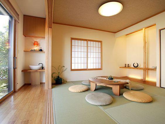 แต่งห้องสไตล์ญี่ปุ่นด้วยเสื่อ หรือพรมสีอ่อน