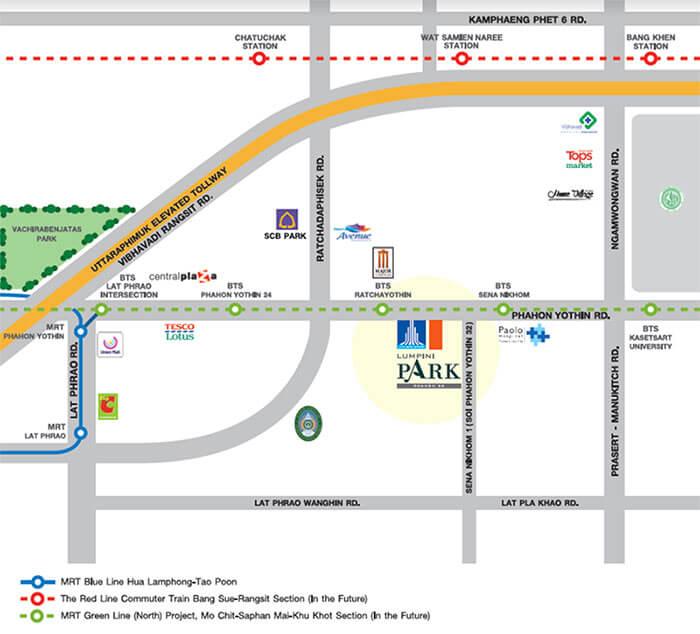 Lumpini Park Phahol 32