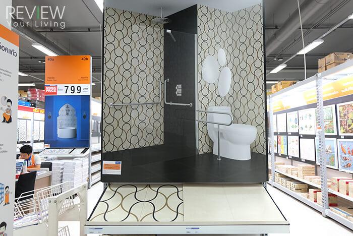 แบบห้องน้ำจะสวย ต้องเลือกวัสดุอย่างพิถีพิถัน