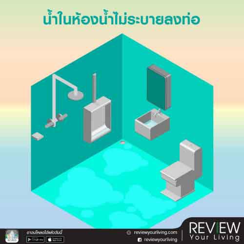 10 ปัญหาห้องน้ำที่แก้ได้