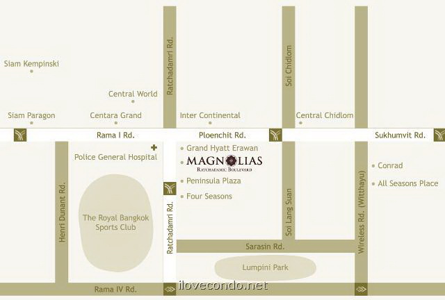 Magnolias Ratchadamri Boulevard - แมกโนเลียส์ ราชดำริ บูเลอวาร์ด