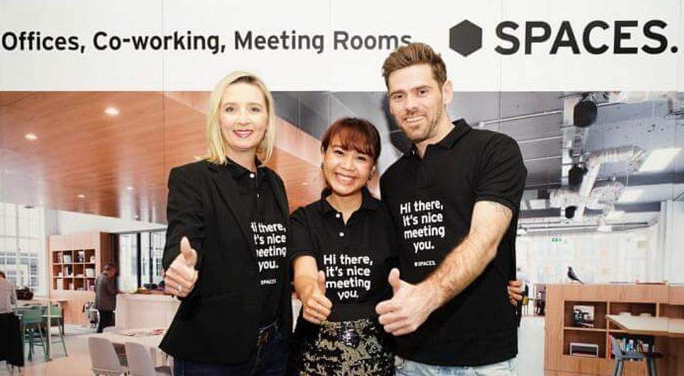 """เตรียมเปิดแล้วจ้า! ออฟฟิศพร้อมใช้งานแห่งแรกในไทย """" Spaces ซัมเมอร์ฮิลล์"""" จาก สเปซเซส ใกล้บีทีเอสพระโขนง"""