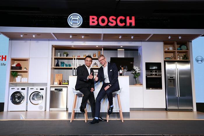 BSH เปิดตัว BOSCH ชูนวัตกรรมโดดเด่น พร้อมรุกตลาดพรีเมี่ยมไทย