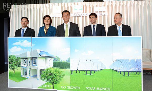 SENA รุกธุรกิจพลังงานทดแทนเต็มเหนี่ยว เปิดตัวบริษัทน้องใหม่ SENA SOLAR ENERGY จ่อรับรายได้โซลาร์กว่า 50 MW ในเดือนม.ค.59 เปิดแผน 3 ปี คว้างานติดตั้งแผงโซลาร์ ขนาดรวม 100 MW