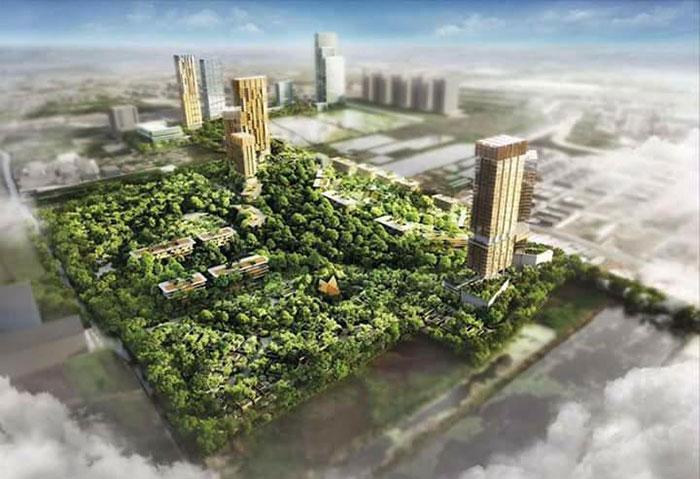 """ครั้งแรกของโลกที่ป่าธรรมชาติและสังคมอยู่รวมกันในเมือง THE FORESTIAS - เดอะ ฟอเรสเทียส์"""" โดย MQDC ปรากฏการณ์ที่สร้างบนพื้นฐาน """"ความสุขที่แท้จริง"""""""