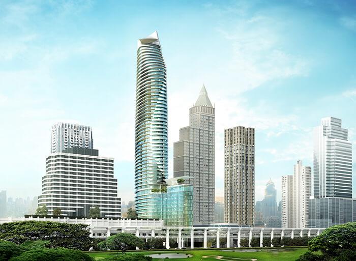 """""""แมกโนเลียส์ ราชดำริ บูเลอวาร์ด"""" ตึกที่สวยที่สุดด้วยสถาปัตยกรรมสุดล้ำค่า """"ไอโคนิค บิลดิ้ง"""" แห่งใหม่บนทำเลที่ดีที่สุดของกรุงเทพฯ"""