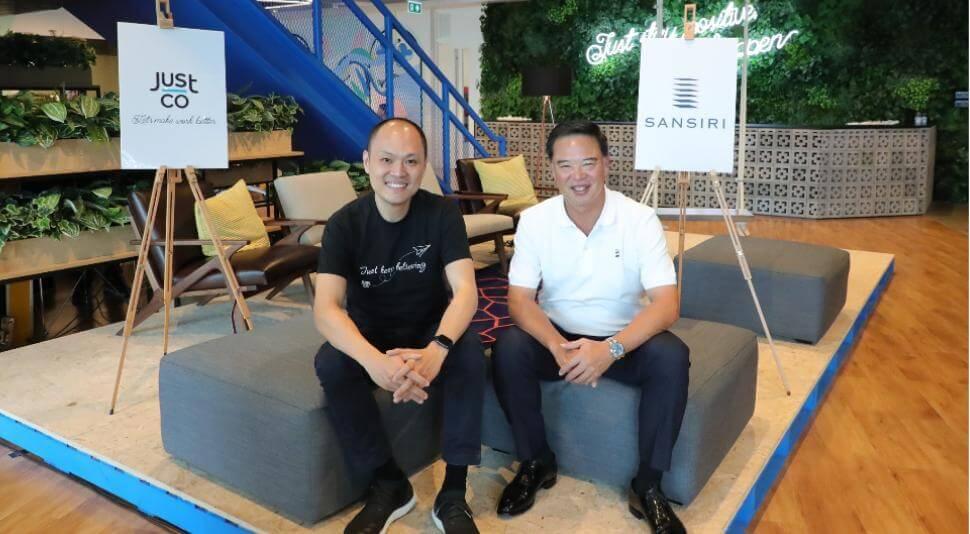 """""""จัสท์โค"""" (JustCo) จับมือแสนสิริ ท้าชิงธุรกิจโคเวิร์คกิ้งสเปซ  ปักธงเปิดสาขาแรกใหญ่ที่สุดในประเทศไทย  พร้อมวางเป้าเปิด 100 สาขาทั่วเอเชียในปี 2563"""