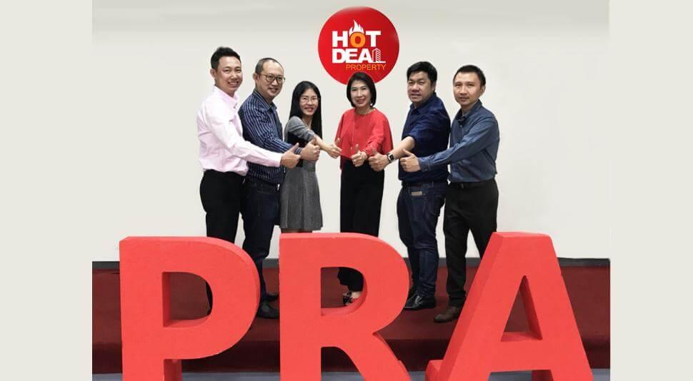 พีอาร์เอ อะคาเดมี เตรียมแตกไลน์ธุรกิจใหม่ เปิด 'Hot Deal บริหารการขายปิดโครงการ'