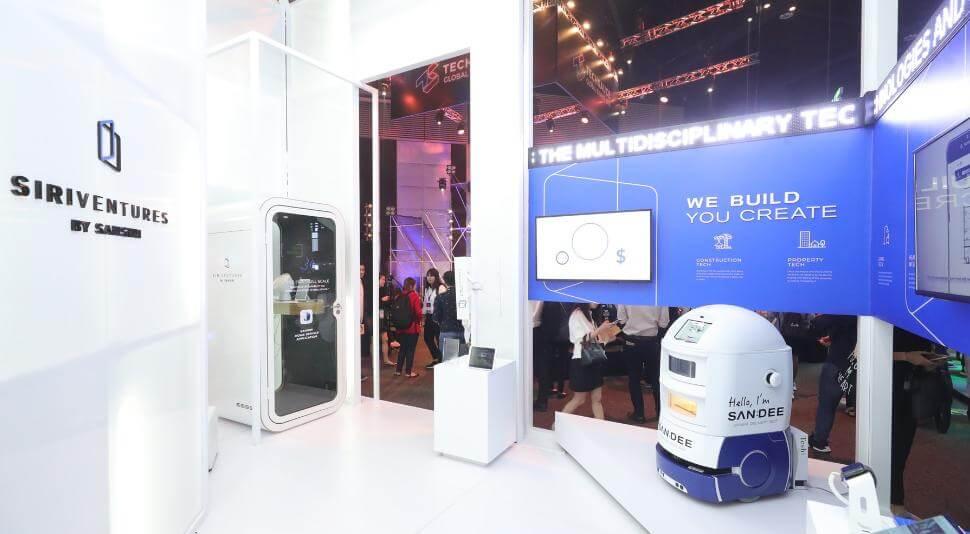 """สิริ เวนเจอร์ส จัดแสดง """"Wind Turbine"""" สุดยอด Prop Tech ครั้งแรกในไทย ณ งาน TechSauce Global Summit 2018"""