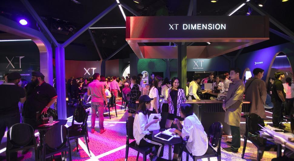 """""""แสนสิริ"""" ประกาศความสำเร็จครั้งยิ่งใหญ่ ปลื้มโครงการ XT ฮอตฉุดไม่อยู่! กวาดยอดขายพรีเซลล์ในงาน """"XT Dimension"""" กว่า 8,000 ลบ."""