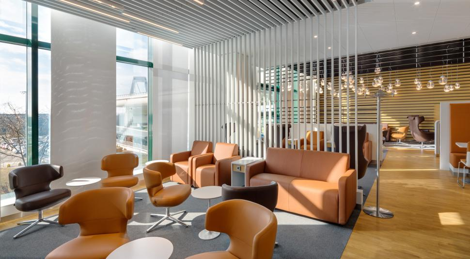 """""""วิลเลรอย แอนด์ บอค"""" จับมือ """"สายการบิน """"Lufthansa"""" ชวนคุณสัมผัสพิเศษกับ """"ห้องน้ำหรู"""" ในห้องรับรองโฉมใหม่ของสายการบินฯ ณ สนามบิน Milan Malpensa ประเทศอิตาลี"""