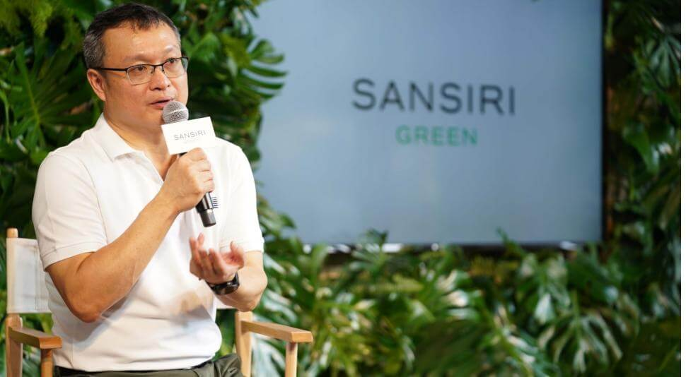 """แสนสิริ เซตมาตรฐานวงการอสังหาริมทรัพย์ไทย เปิดตัวครั้งแรกกับโมเดลธุรกิจเปลี่ยนโลก """"Sansiri Green Mission"""" ภายใต้แนวคิดเศรษฐกิจหมุนเวียน"""