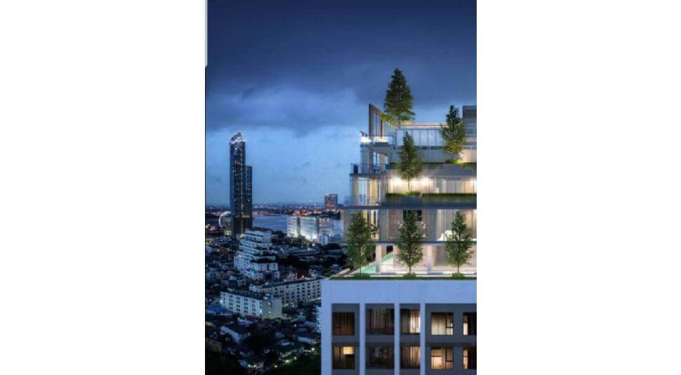 Luxury riverside condominium