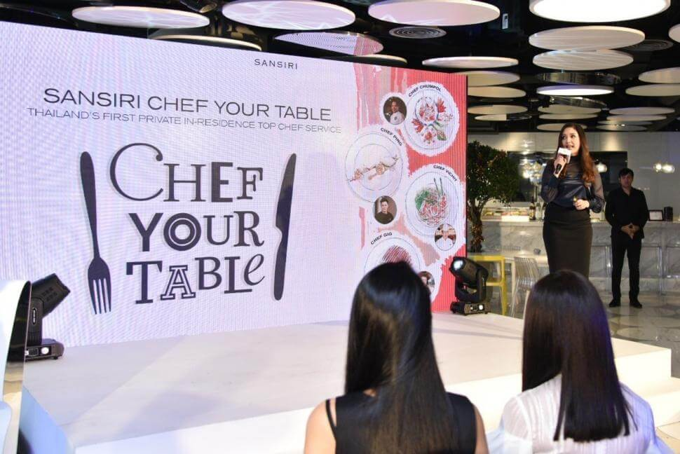 SANSIRI CHEF YOUR TABLE
